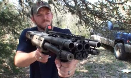 The Quad Barreled Shotgun is a Totally Insane Experiment