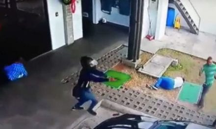 Video: Attempted Armed Robbery Turns Into Complete Chaos