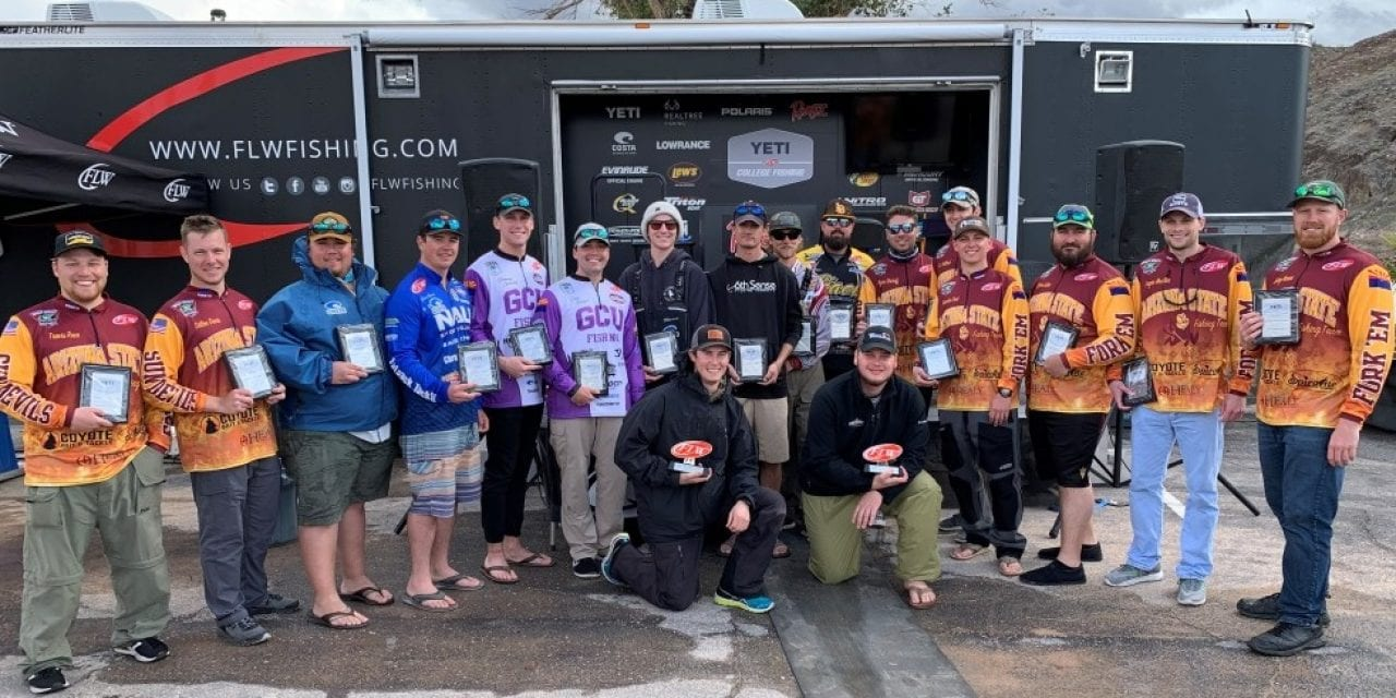 CAL POLY WINS YETI FLW COLLEGE FISHING WESTERN CONFERENCE TOURNAMENT ON LAKE MEAD PRESENTED BY BASS PRO SHOPS