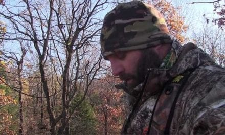 "Hunter Gets Surprised By a ""Buck"" Directly Underneath His Treestand"