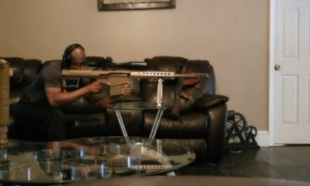 Man Fires a .50 Cal in His Living Room (Without a Suppressor this Time!)