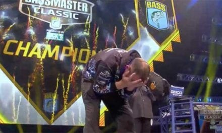 Ott DeFoe is the 2019 Bassmaster Classic Champion