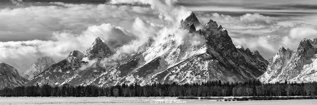 "Today's Photo Of The Day is ""Between the Storms"" by Beth Holmes. Location: Grand Teton National Park, Wyoming."