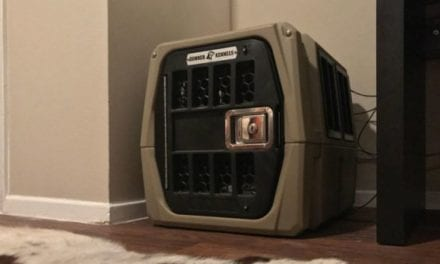 The Gunner Kennels G1 is the Ultimate Crate-Training Tool