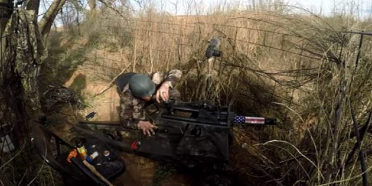 Video: Texas Hunter Shoots Hog With 40mm Cannon