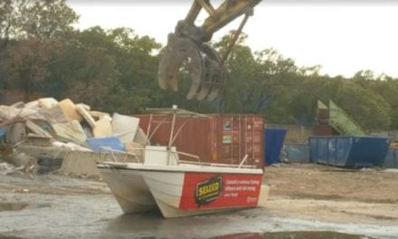 Video: Watching This Fishing Boat Getting Shredded Will Make You Cringe
