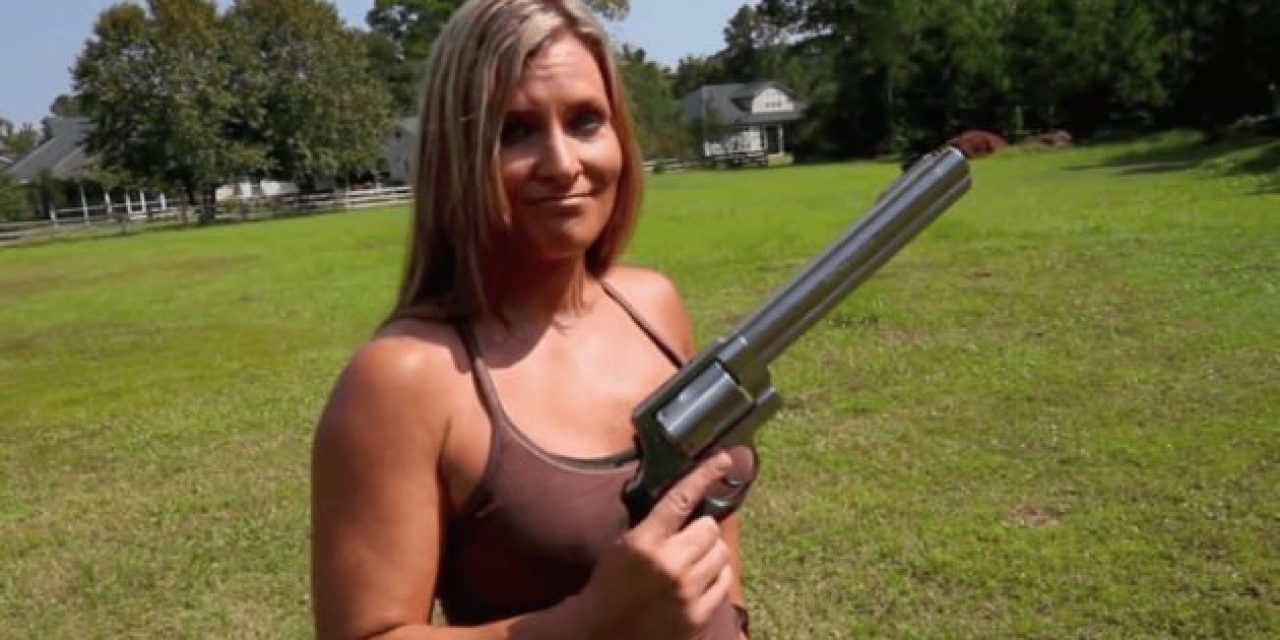 Girl Shoots a Smith & Wesson 500 Magnum for the First Time