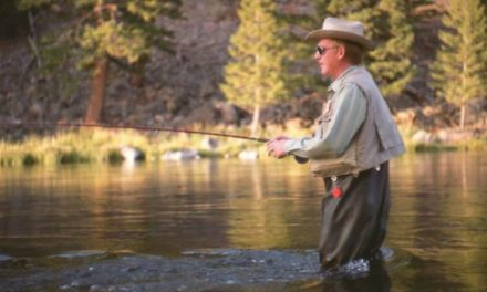 """Historic Outdoor People: Bud Lilly, Fly Fishing Icon and a """"Trout's Best Friend"""""""
