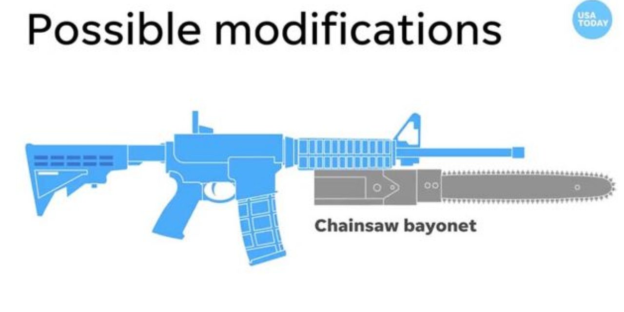 How the Ridiculous Chainsaw Bayonet Video By USA Today Got the Meme Treatment