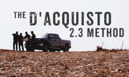 Learn to Kill Big Bucks With the D'Acquisto's 2.3 Method