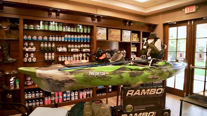 Old Town's Predator PDL kayak will make you want to pedal out and fish