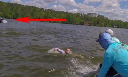 Video: Boat Throws Driver at Full Speed, Keeps Driving Aimlessly