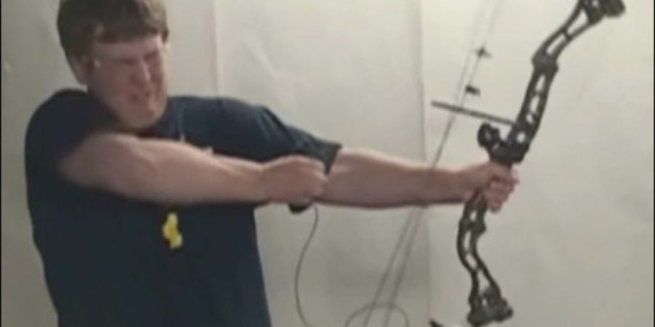 Behold, the Fastest Way to Break a Compound Bow