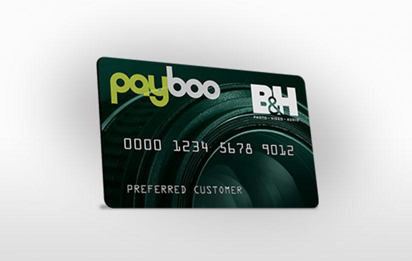 Payboo card from B&H Photo