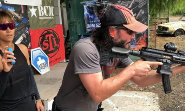 Keanu Reeves Shows Shooting Prowess Training for John Wick Movie