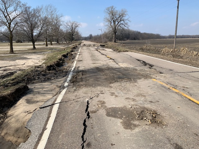 Access Road to 2-Rivers 3-26-2019