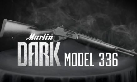 Marlin Unveils Dark Model 336 and It's Eye-Catching as Hell