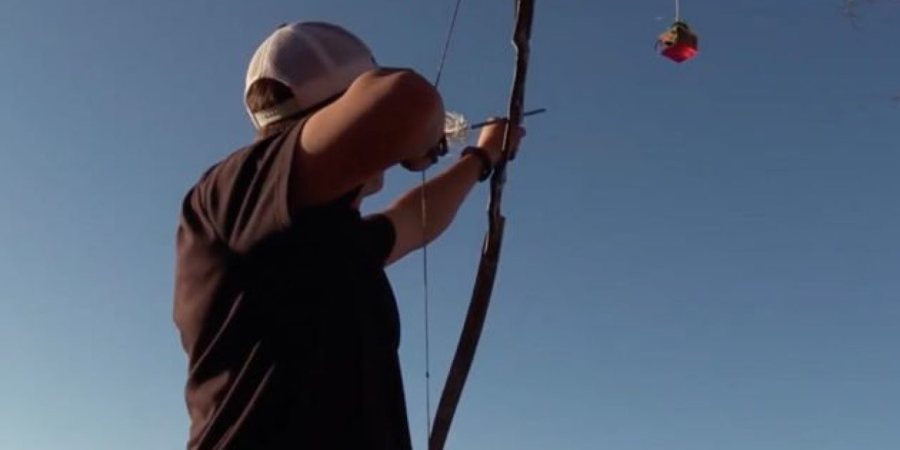 This Guy Can Shoot Anything With a Bow, Including a Falling Drop of Water