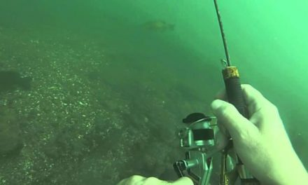 Underwater Fishing Lets You Go Where the Bass Are