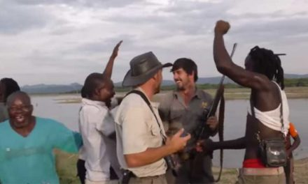 Watch These Villagers React When a Hunter Shoots a Man-Eating Croc in the Brain