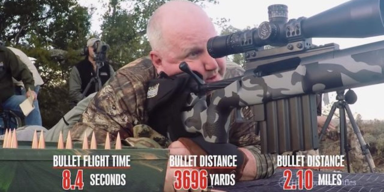 Watch This Shooter Nail a 4,549-Yard Shot in Texas