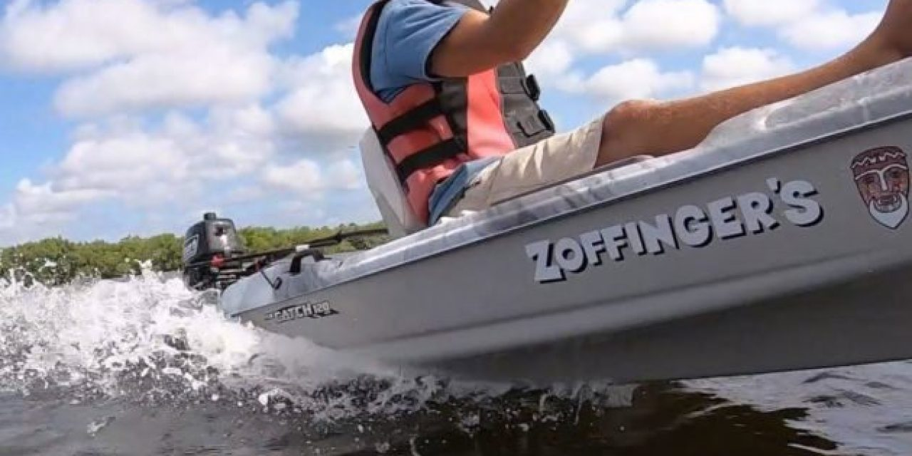 What Happens When You Throw a 5HP Outboard Motor on a Kayak?