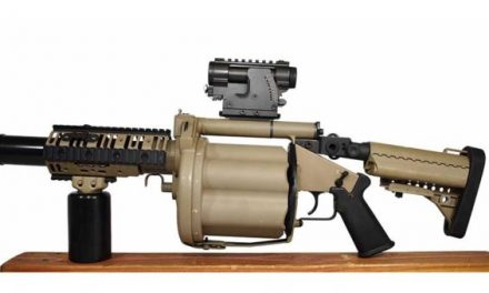 You Can Buy an Army Trade-In M32 Grenade Launcher for $15,000