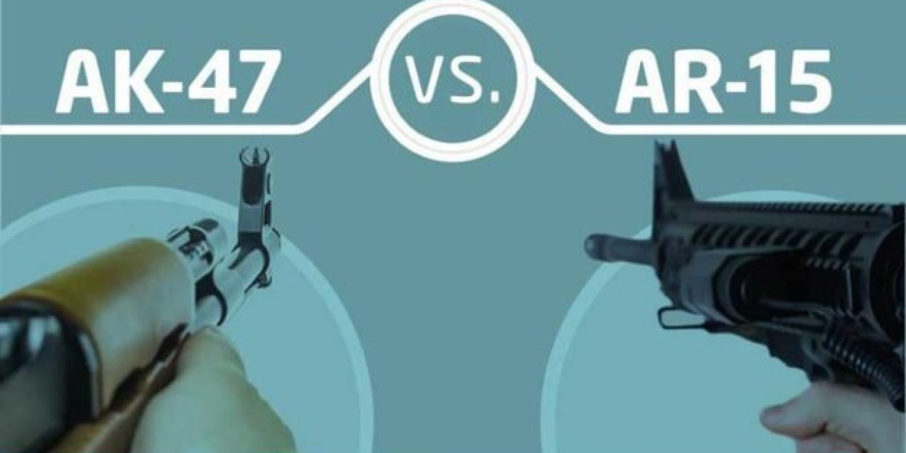AK-47 vs. AR-15: What's the Difference?