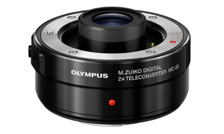 The Olympus MC-20 2x Teleconverter Is Now Available