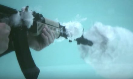 What Happens When You Shoot an AK-47 Underwater?