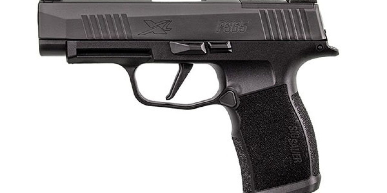 SIG SAUER Continues to Redefine Everyday Carry with Addition of P365 XL Pistol