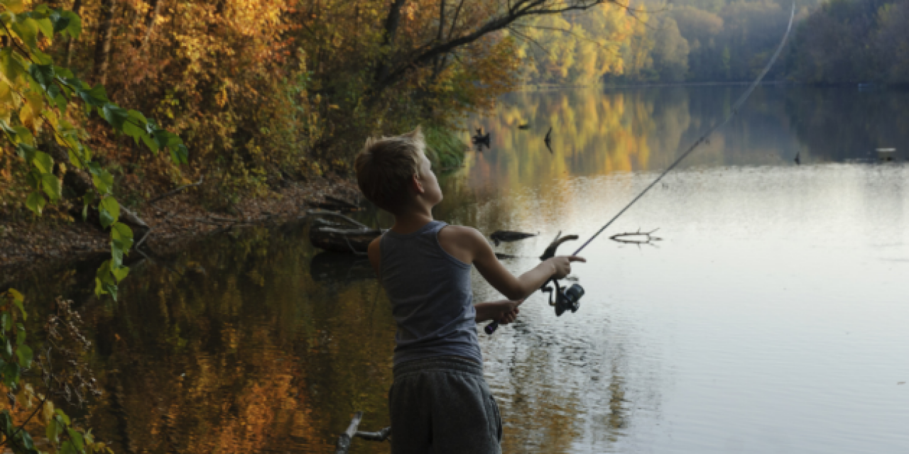 These Are Bass-ically the Beginner Walmart Fishing Poles Your Kid Needs