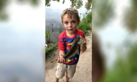 This Kid Will Tell You Everything You'll Ever Need to Know About Fishing