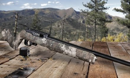 Thompson/Center Arms™ Adds T/CR22® with TRUETIMBER® Camouflage Pattern