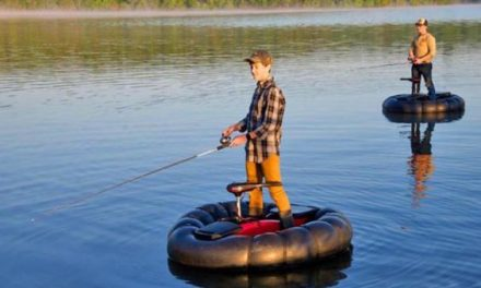 Can You See Yourself Fishing or Hunting in This Bumper Boat?
