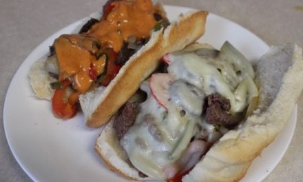 Finally! Here's the Best Way to Make Venison Cheesesteaks