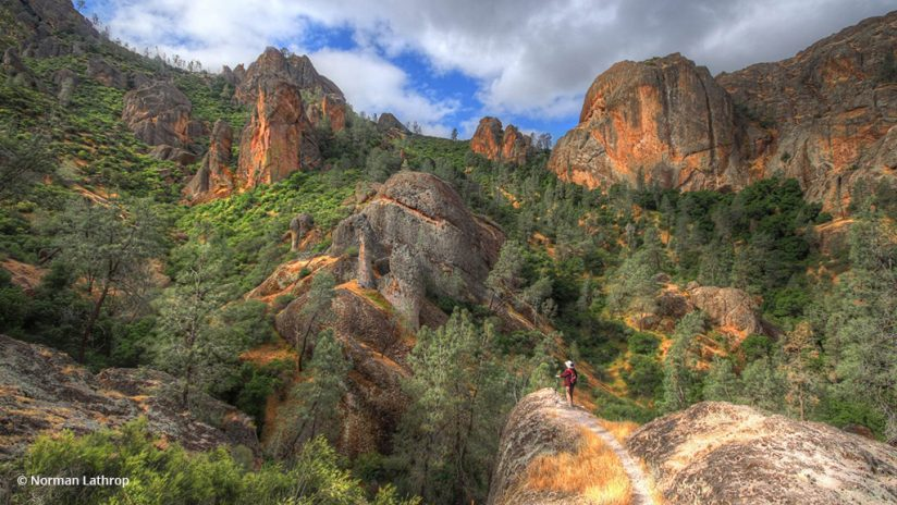 """Photo Of The Day: """"Pinnacle of My Day"""" by Norman Lathrop. Location: Pinnacles National Park, California."""