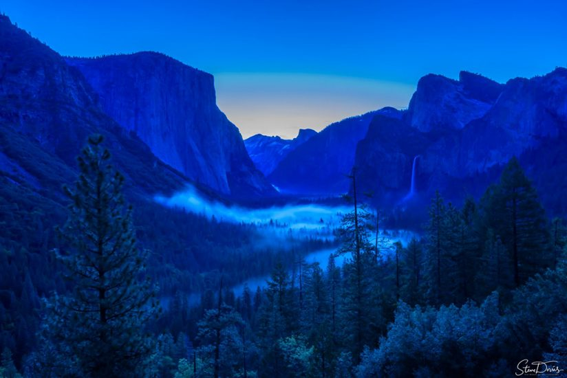"Today's Photo Of The Day is ""Tunnel View Before Sunrise"" by Steve Dorris. Yosemite Valley, California."