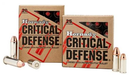 Hornady Critical Defense Adds Even More to Its Threat-Stopping Lineup