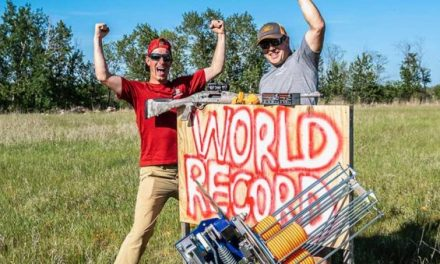 World Record for Clay Shooting Distance Broken By the Gould Brothers
