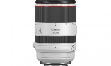 Canon Introduces RF 70-200mm F2.8L IS USM For EOS R