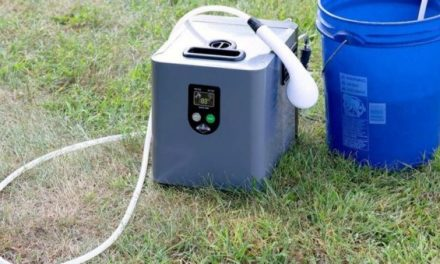 Feel Refreshed for Your Next Camping Trip With This Portable Shower System