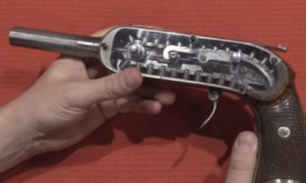 This 40-Shot Pistol from 1878 Was Once a VERY High-Capacity Weapon