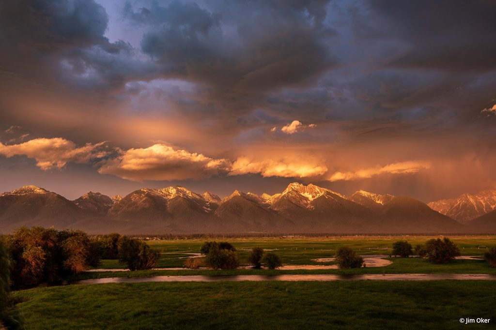 "Today's Photo Of The Day is ""Mission Valley Weather Front"" by Jim Oker. Location: Ronan, Montana."