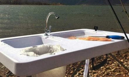 An Outdoor Sink Keeps Messy Food Prepping Away From Your Kitchen