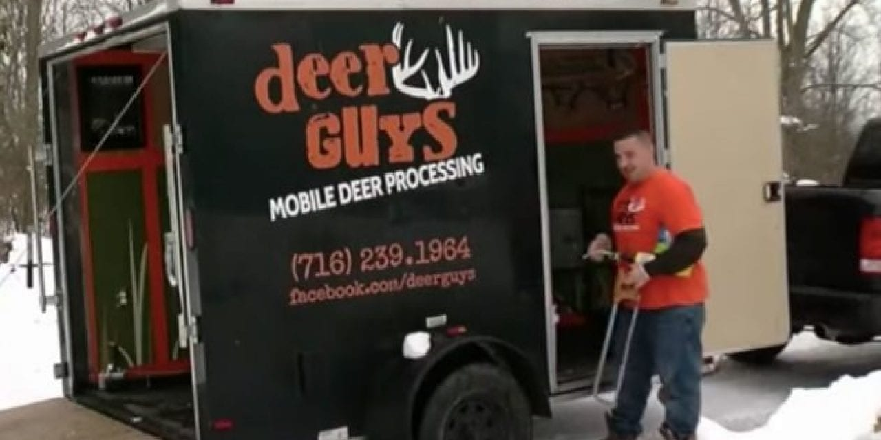 Mobile Truck Brings Deer Processing to Your Door