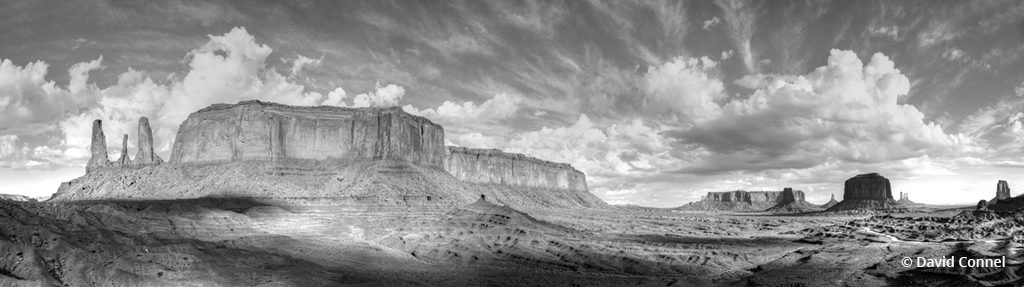 "Today's Photo Of The Day is ""Monument Valley Grandeur"" by David Connel. Location: Monument Valley Navajo Tribal Park, Arizona."