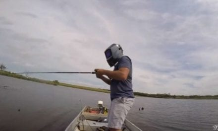 Remember What Happened When This Guy Went Bass Fishing During the Eclipse?