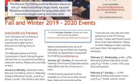 Youth Fishing Instructor Newsletter, Fall 2019