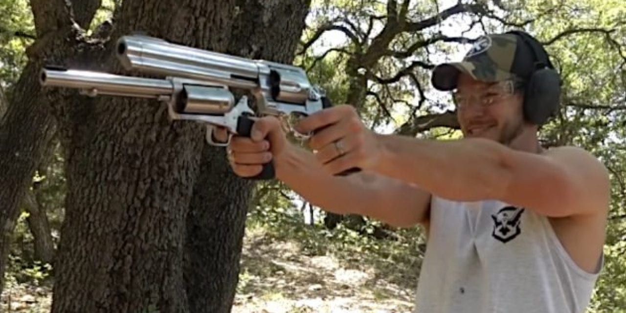 10 Videos of People Shooting Big Revolvers